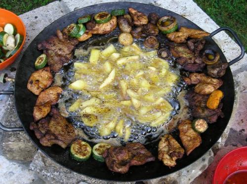 Grill tárcsa készítés